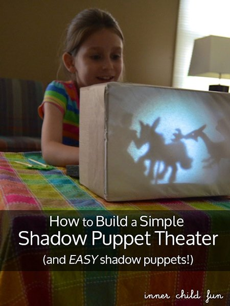 how to make simple shadow puppets