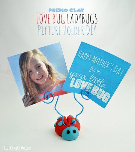 Love Bug Ladybugs Picture Holder
