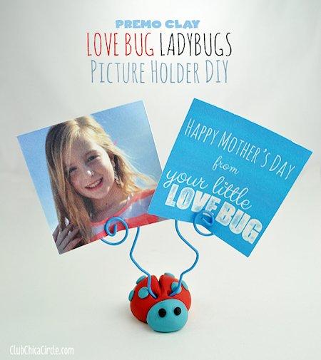 Love Bug Ladybugs Picture Holder