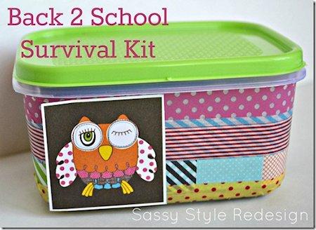 Back 2 School Survival Kit