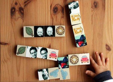 Homemade Domino Game
