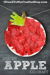 Tissue Paper Apple