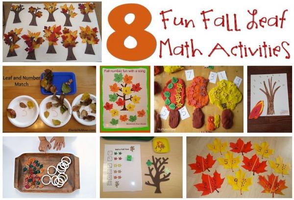 8 Fun Fall Leaf Math Activities