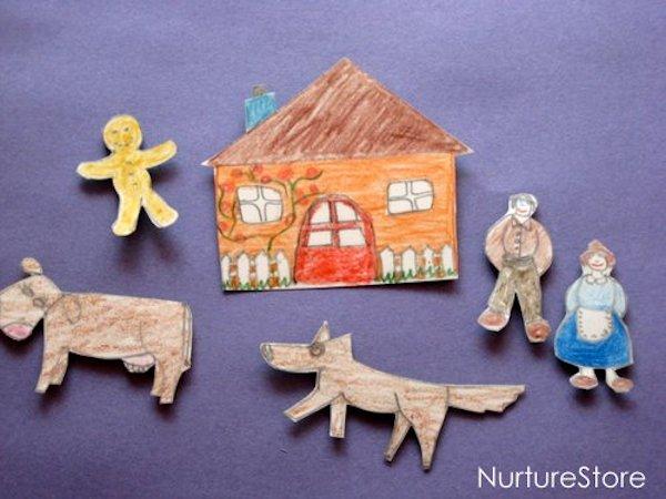 fairy tale fridge magnets lesson plans. Black Bedroom Furniture Sets. Home Design Ideas