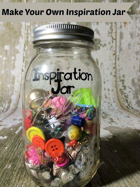 Make your Own Inspiration Jar