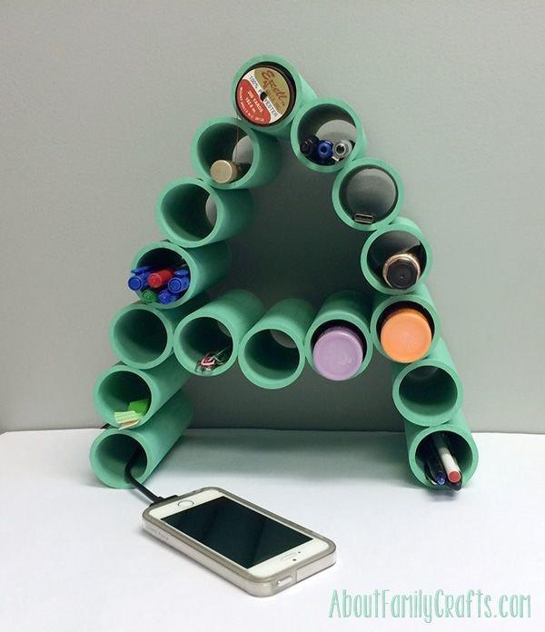 Monogram Organizer Using PVC Pipe