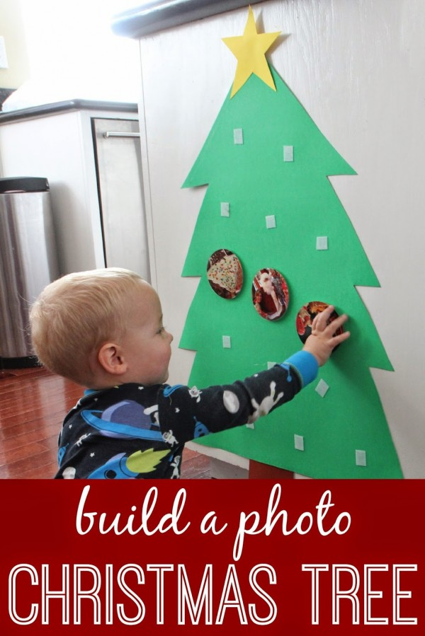 Photo Christmas Tree for Babies and Toddlers