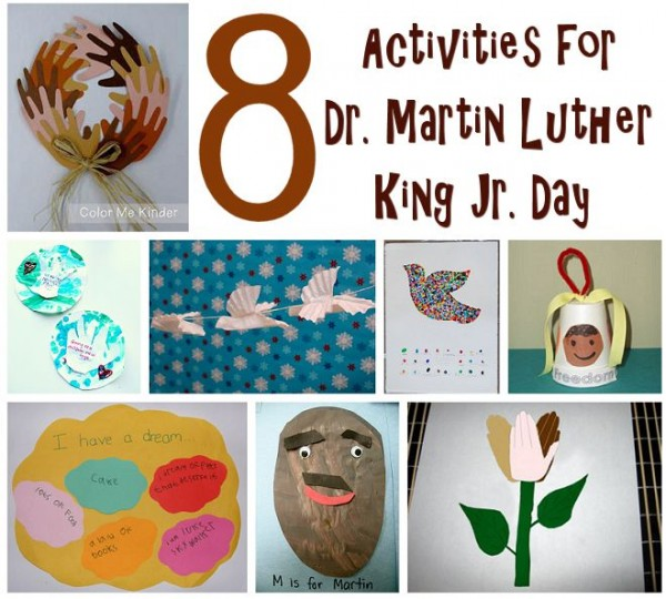 Kid Activities Holidays Dr Martin Luther King Day Induced Info