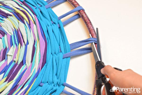 How To Make A Hula Hoop Rag Rug Lesson Plans