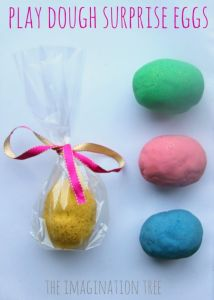 DIY Play Dough Surprise Eggs