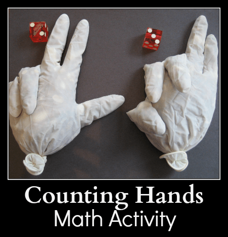 Counting Hands Math Activity