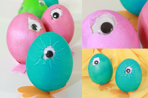 Peek-a-Boo Easter Eggs