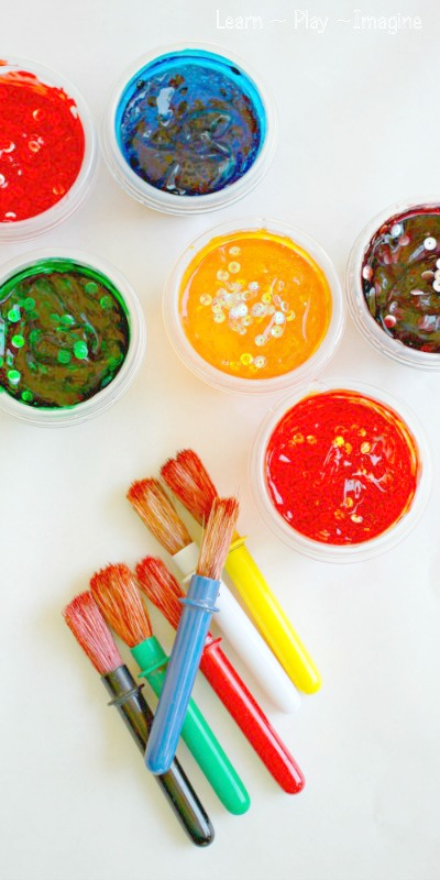 Confetti Paint Recipe