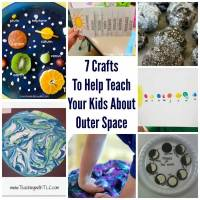 7 Crafts To Help Teach Your Kids About Outer Space