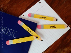 Craft Stick Pencil Bookmark
