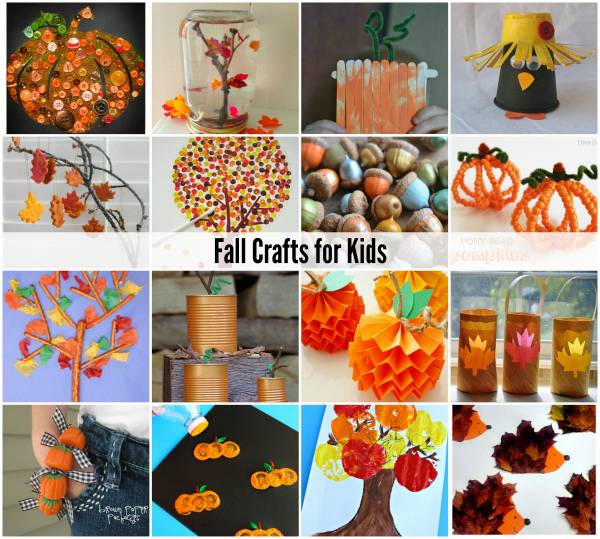 fall craft idea fall crafts for lesson plans 1977