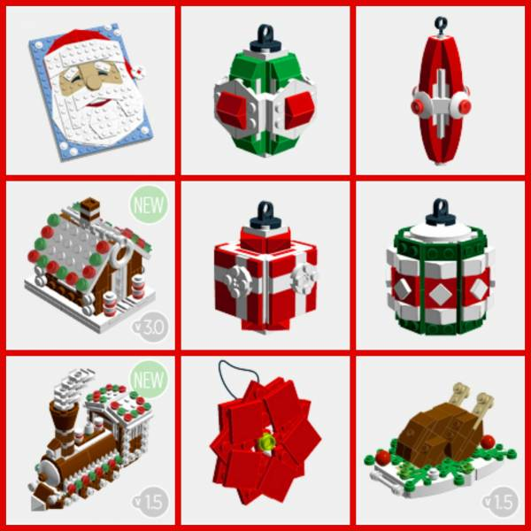 Christmas Decorations Lesson Plans : Make your own lego ornaments with these free instruction