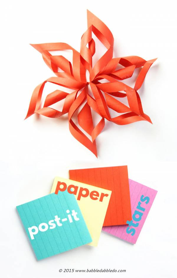 Post-It-3D-Paper-Stars-BABBLE-DABBLE-DO-PIN