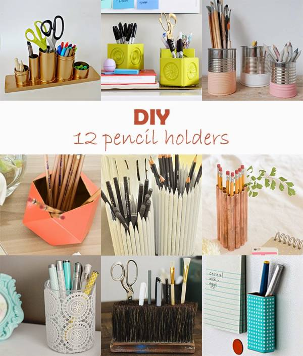 diy monday # pencil holders