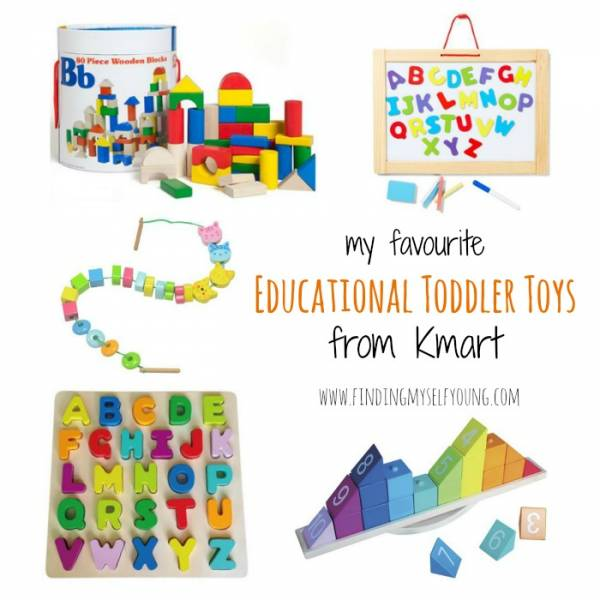 educational toddler toys from kmart
