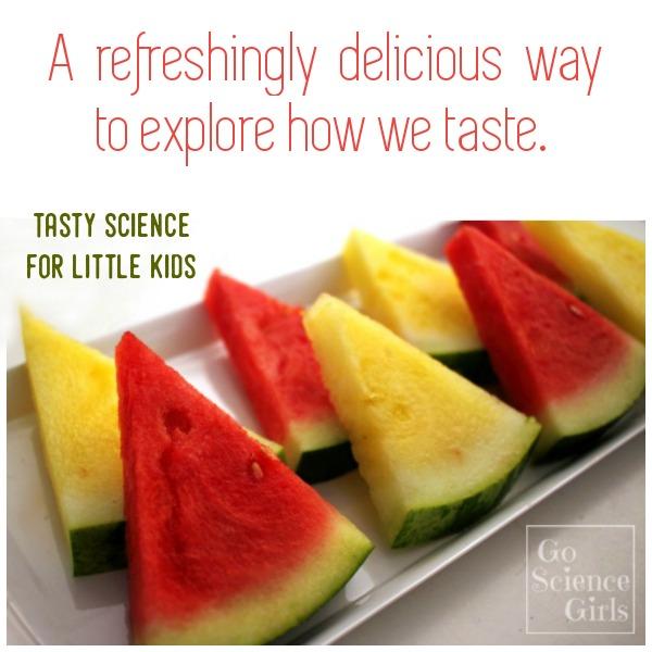 Taste testing foods as an educational activity.