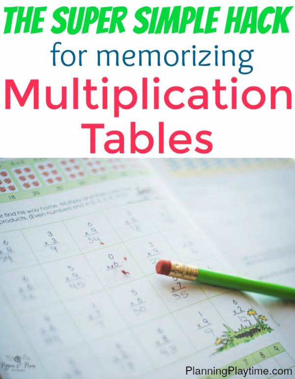 Creative Ways to Learn Times Tables | homeschool | Times ...