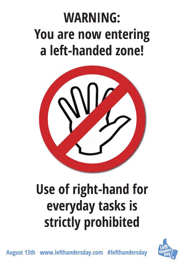 celebrating left handers day