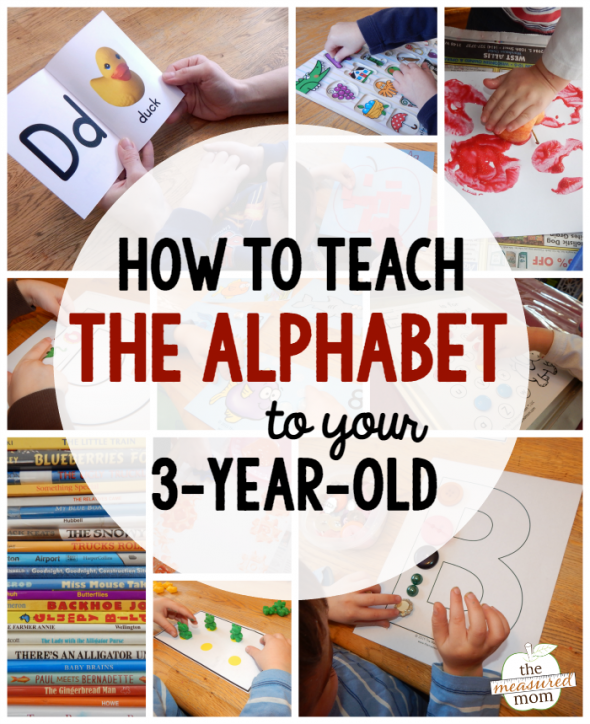 An Introduction To The House: Learning Letters With A 3-Year-Old