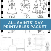 Printables for All Saints' Day