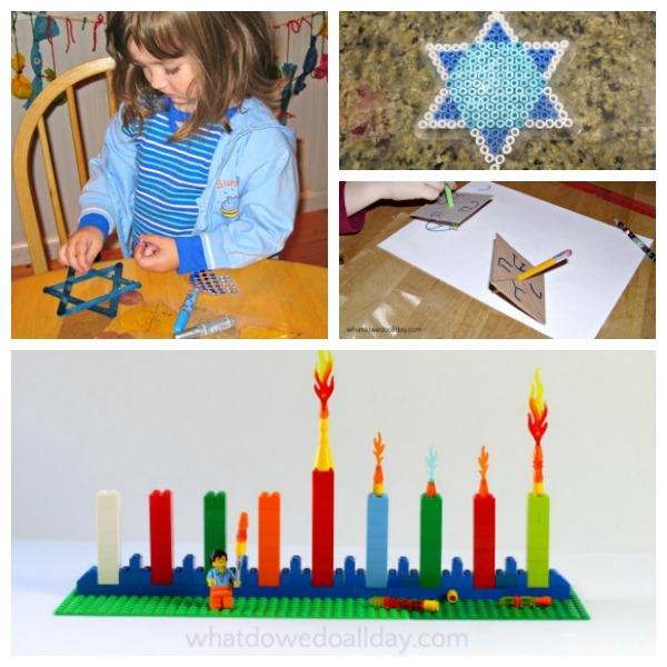 Hanukkah activities for kids.