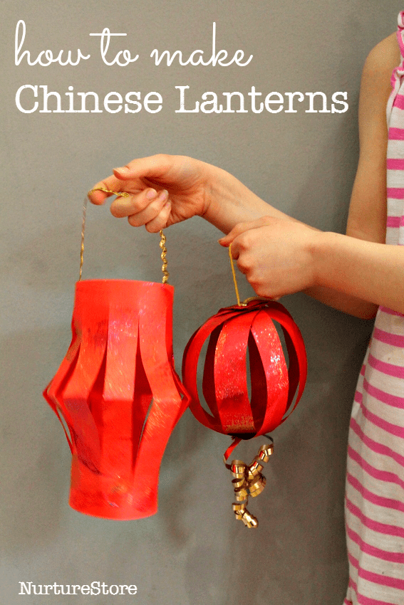 Make Chinese lanterns and other crafts for Chinese New Year.