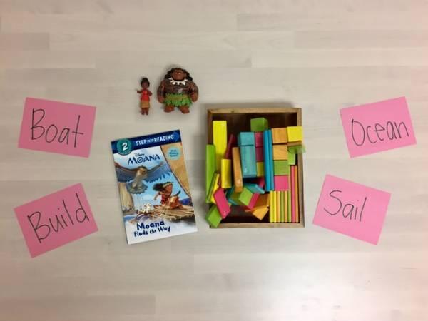Moana-inspired learning activities.