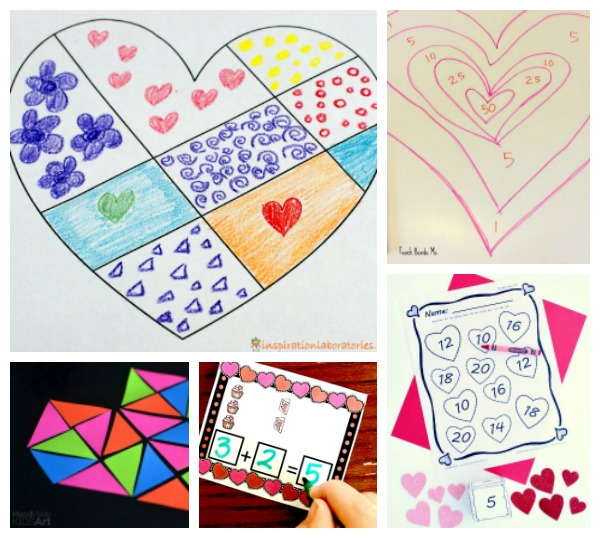 Valentine's Math Activities