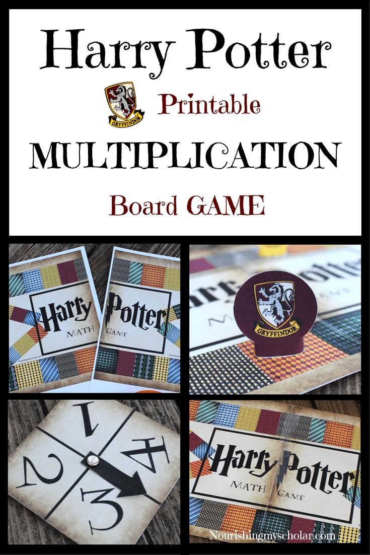 Harry Potter multiplication game.