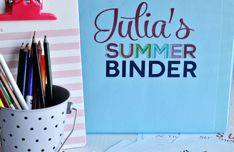 Thinking about Summer? Grab this Printable Activity Binder