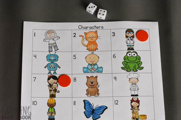printable story starter game for kids