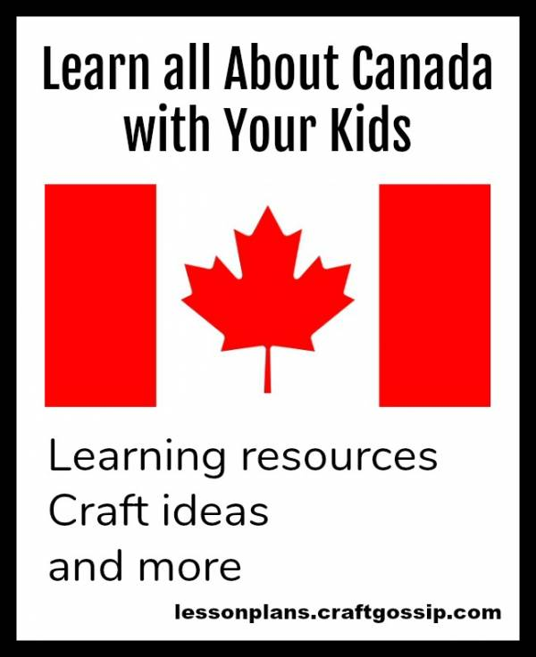 Canada Day crafts and learning activities