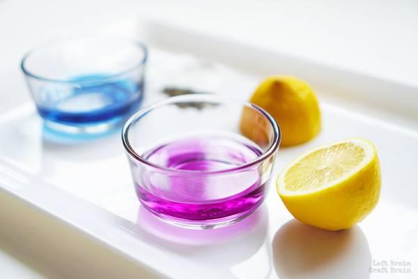 color changing lemonade