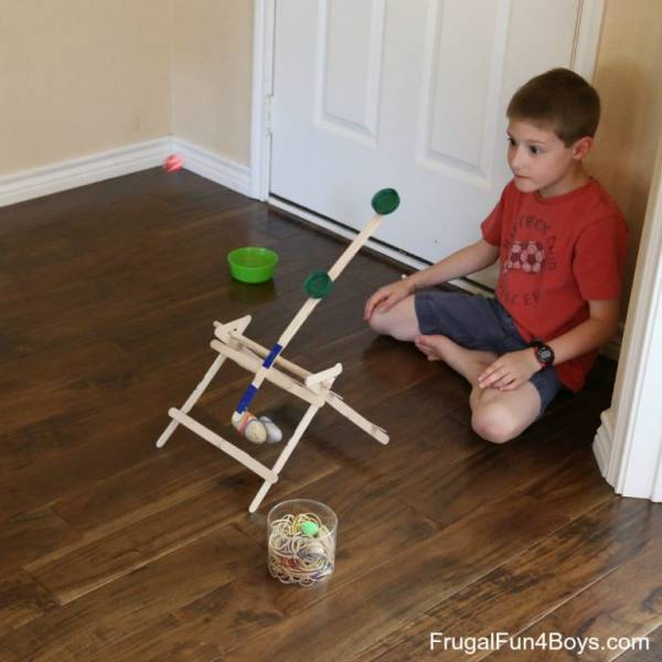 make your own craft stick trebuchet