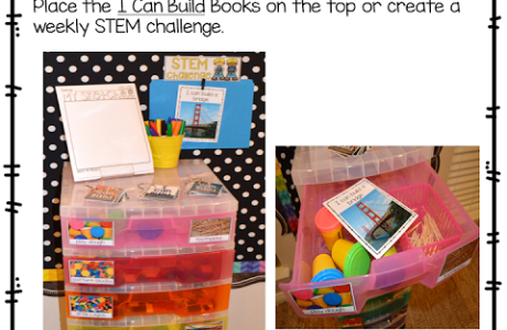 Make STEM Drawers to Keep Materials Together