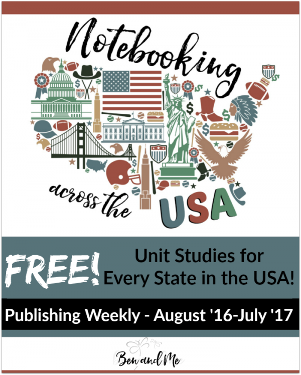 state unit studies for homeschool