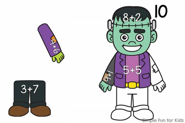 build an addition frankenstein