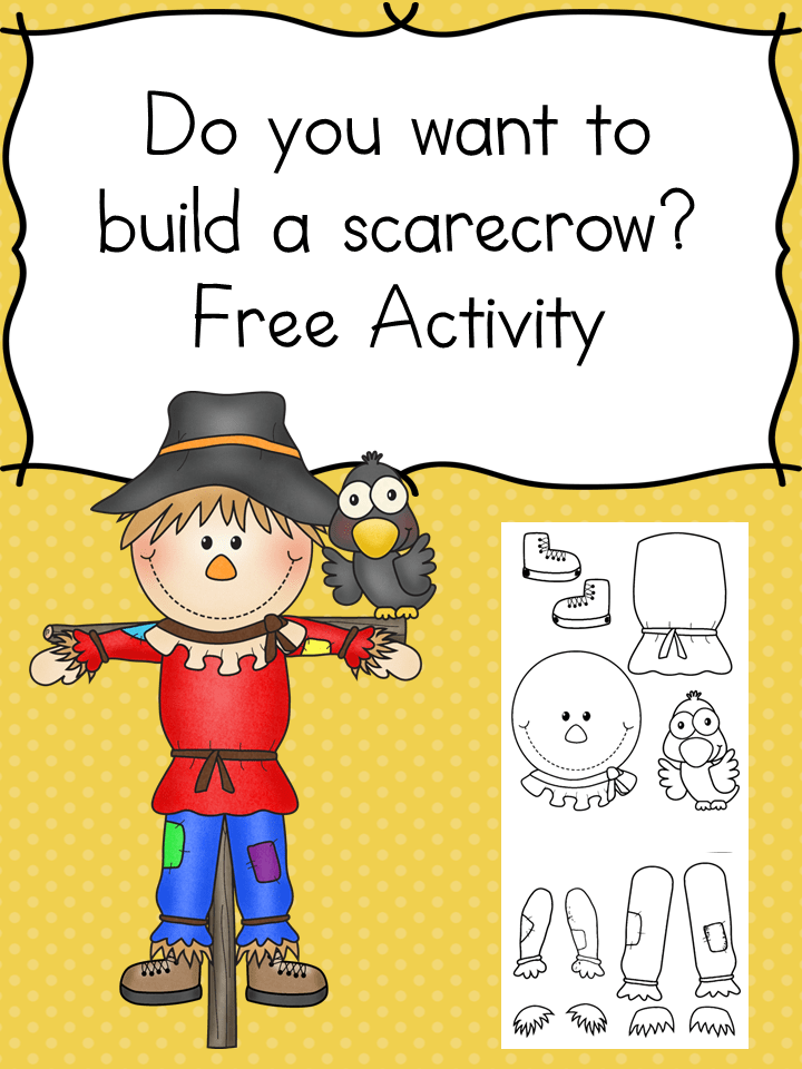 build a scarecrow activity