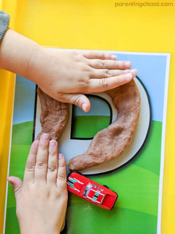Printable Alphabet Roads Let Kids Build the Alphabet
