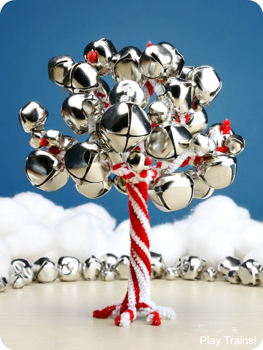 jingle bell tree and other activities using jingle bells