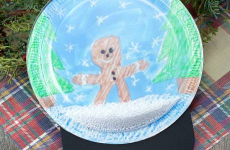 Easy and Cute Snowglobe Craft
