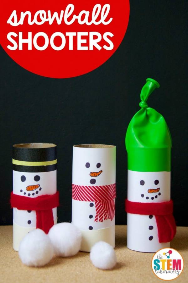 snowball shooters STEM game