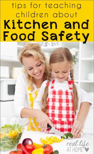 teaching kids food safety