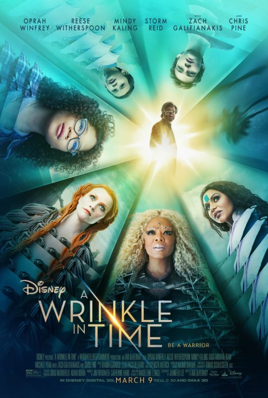 Wrinkle In Time Activity Sheets
