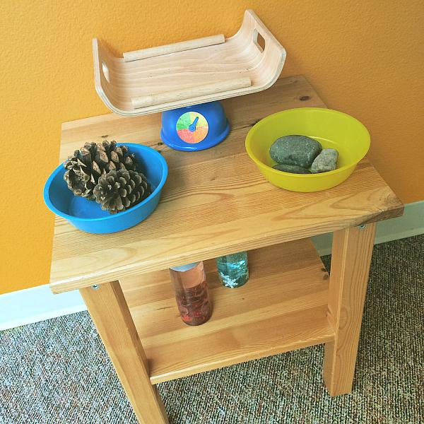 preschool science center ideas